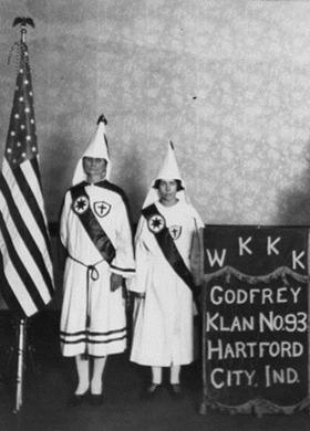ku klux klan 1920s history