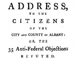promoting the u s constitution ratification debate federalists  anti federalists francis hopkinson the new roof albany federalist pamphlet primary sources for teachers america in class national humanities center