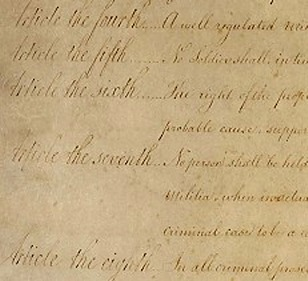 Read the Bill of Rights: