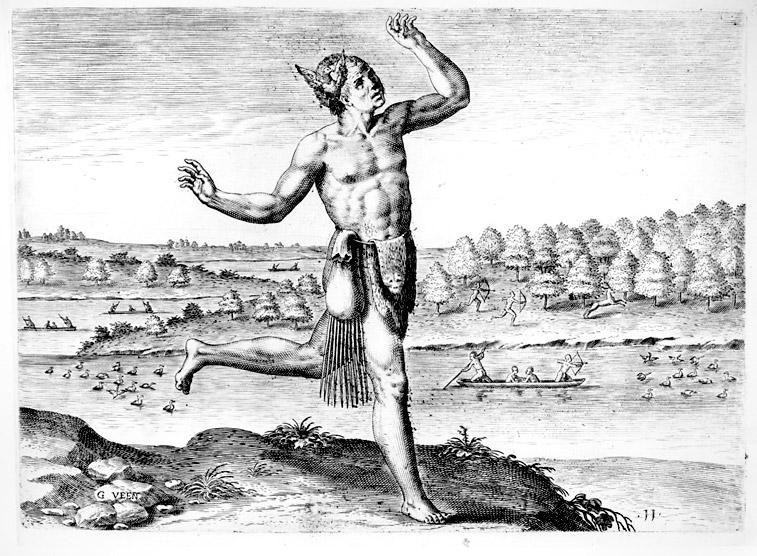 De Bry, The Conjurer