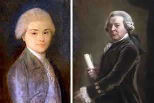 John Quincy Adams and John Adams, 1783