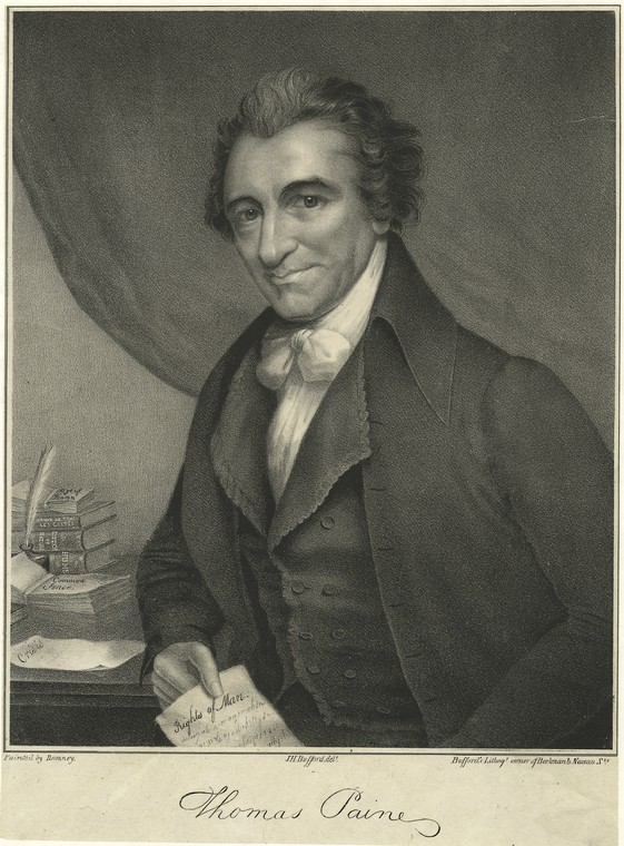 "thomas paine s common sense lesson plan to us he projects the typical figure of a ""founding father"" composed elite and empowered and to us his famous essays are awash"