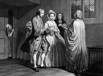 Courtship and Marriage in the 18th Century