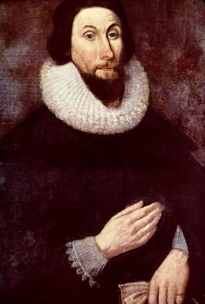 portrait of John Winthrop
