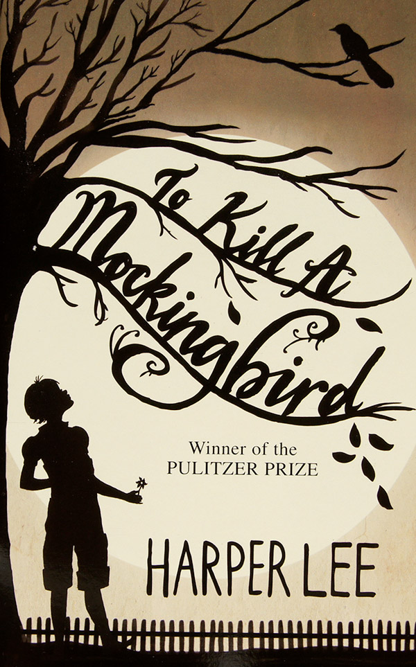 Book cover, To Kill A Mockingbird