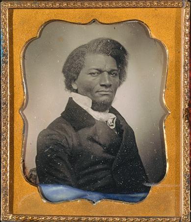 Frederick Douglass, ca 1855, Metropolitan Museum of Art.
