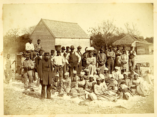freed slaves, South Carolin