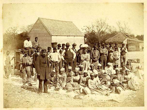 freed slaves, South Carolin