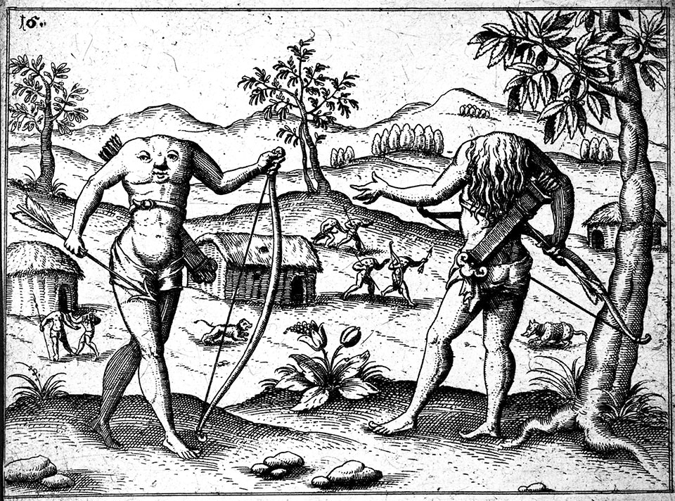 Illustration of Blemmyes