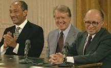 Carter, Begin, Sadat Sign Peace Accord