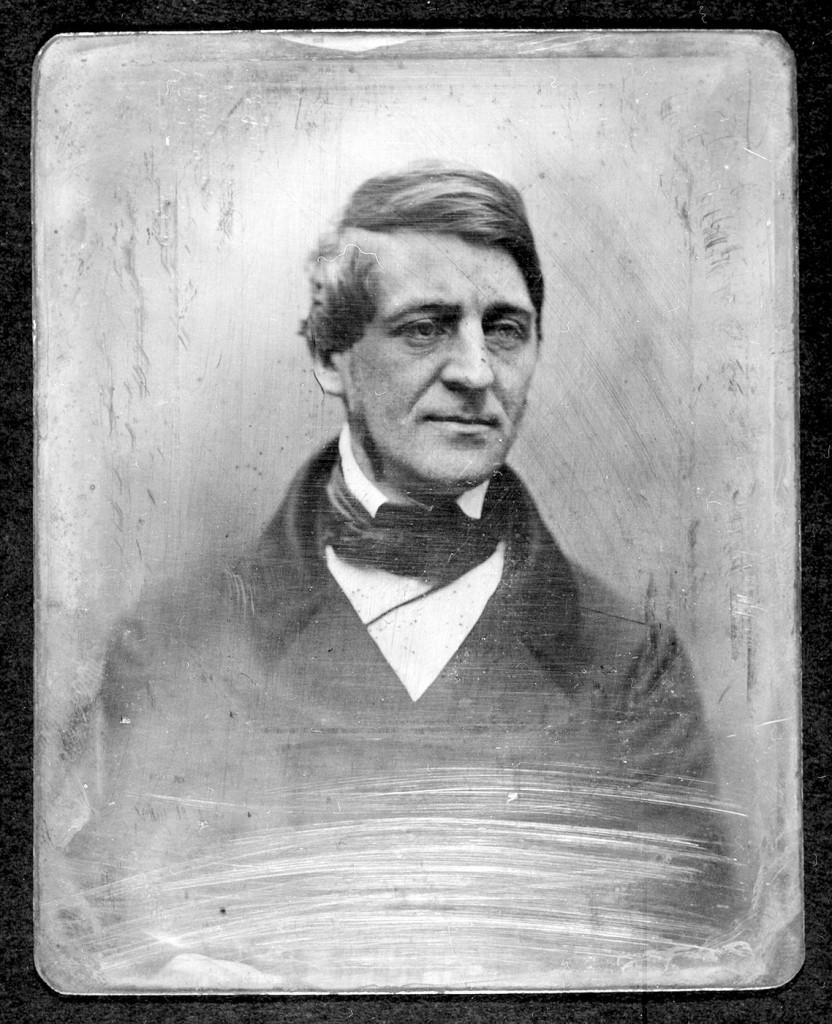 Daguerrotype of Ralph Waldo Emerson