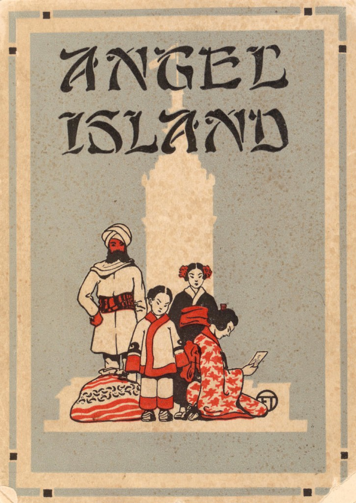 'Angel Island: the Ellis Island of the West,' 1917