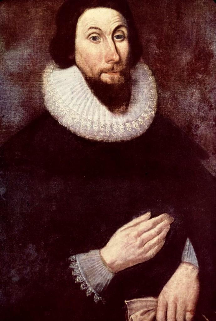 portrait of John Winthrop