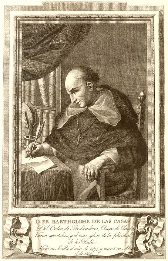 Portrait of Bartolome de las Casas