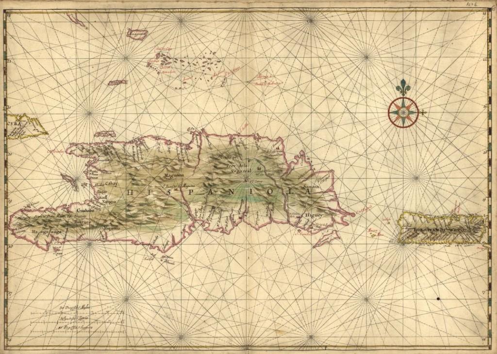 map of Hispaniola