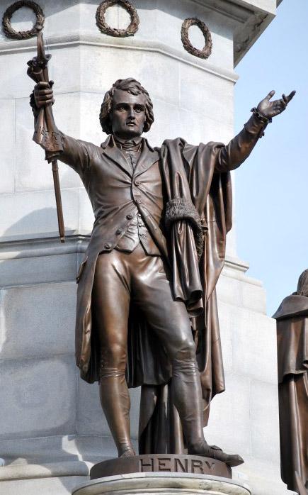 Statue of Patrick Henry, Richmond, Virginia