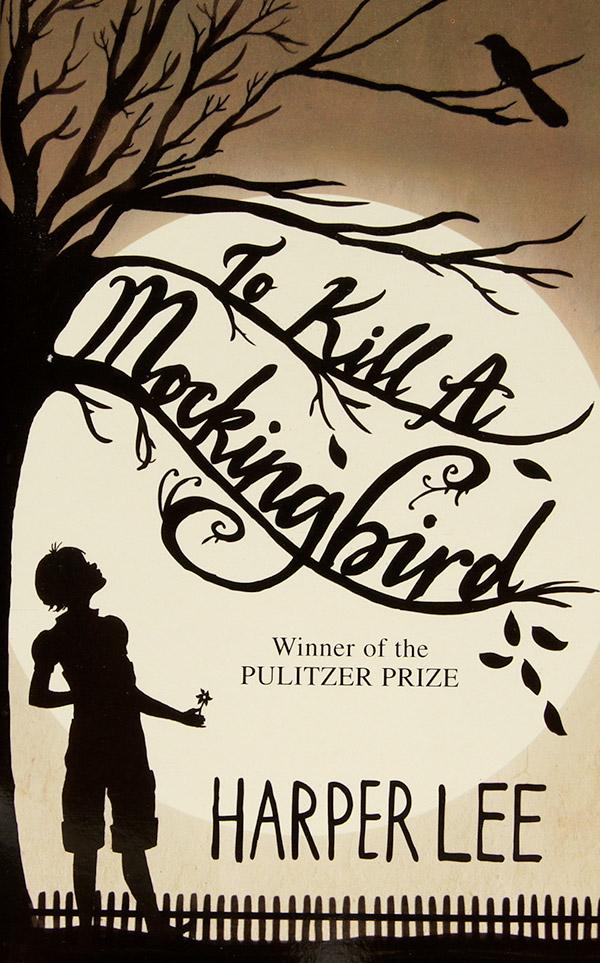 Book cover, To Kill A Mockingbird