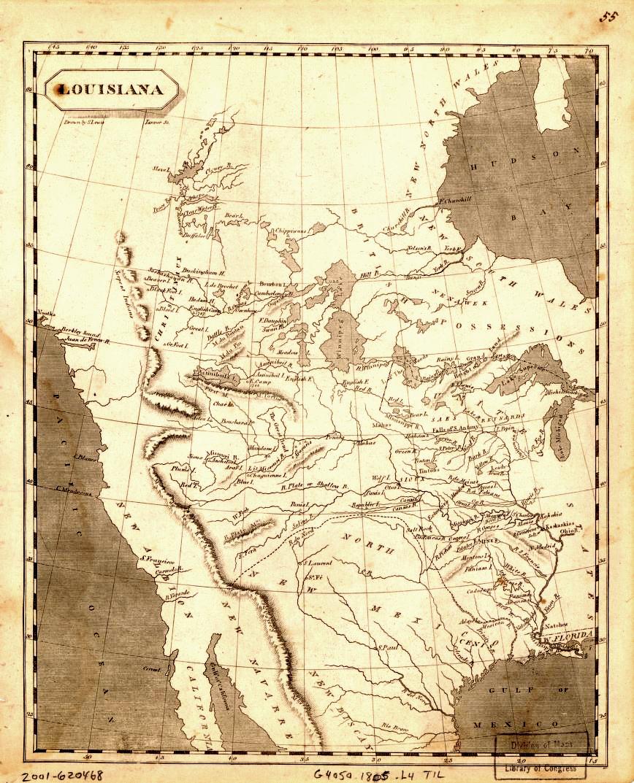 map of Louisiana